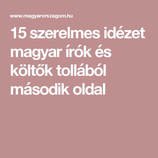 szerelmes idézetek magyar 15 szerelmes idézet magyar írók és költők tollából második oldal