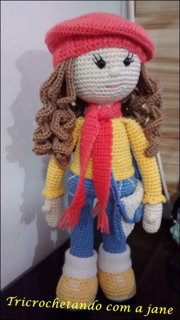 Boneca Molly Amigurumi Bonecas De Croche # Boneca Molly Amigurumi Pinterest Muec...