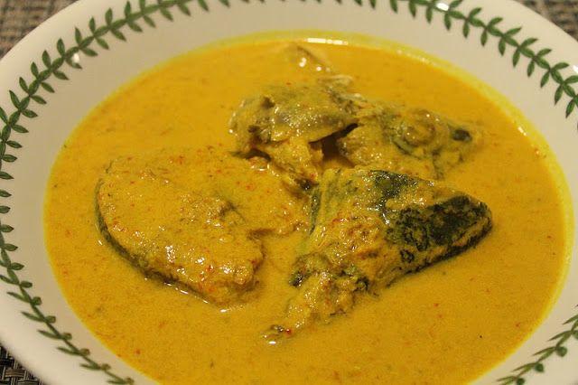 Azie Kitchen Ikan Tongkol Gulai Stail Kelantan Malaysian Cuisine Malaysian Food Food