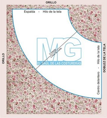 0ebb80443 Falda media campana | diseños ropa | Faldas, Como hacer vestidos ...