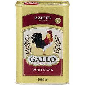 Azeite de Oliva Puro Lata 500ml - Gallo no eFácil.com.br Lata para guardar talheres