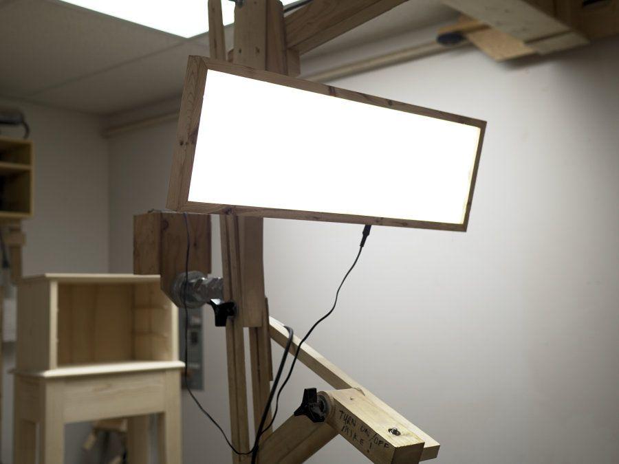 How To Make An Led Light Panel Led Panel Light Led Lighting Diy Battery Powered Led Lights