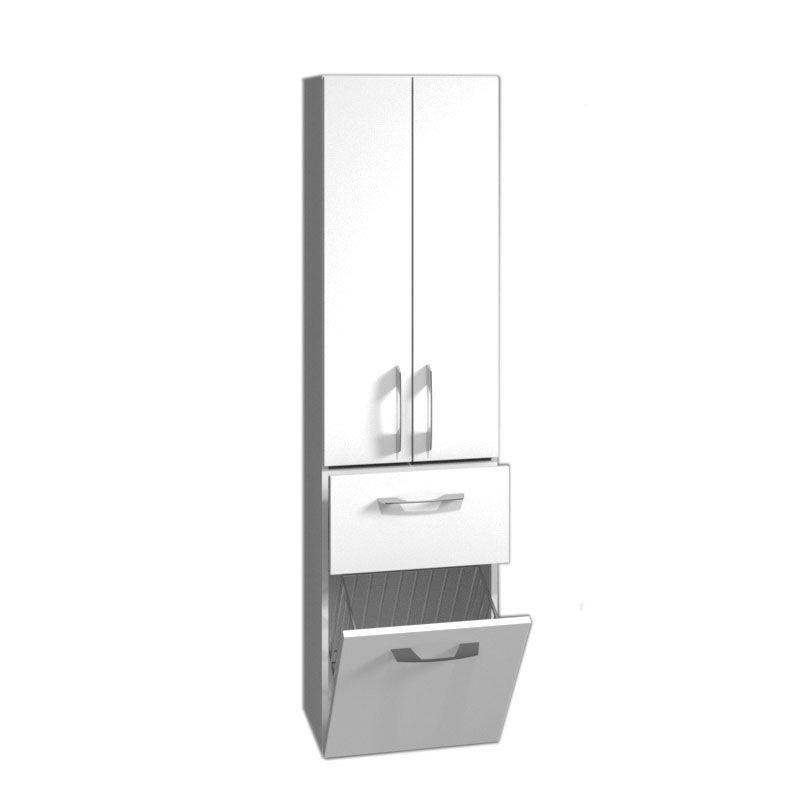 Badezimmerschrank Mit Wäschekippe Ikea