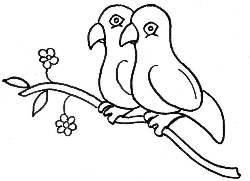 25 Mewarnai Gambar Sketsa Flora Dan Fauna Terindah Koleksi Gambar