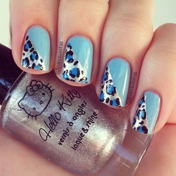 Leopard Print Nail Art @ lovessweetas | Nails ♔ | Leopard