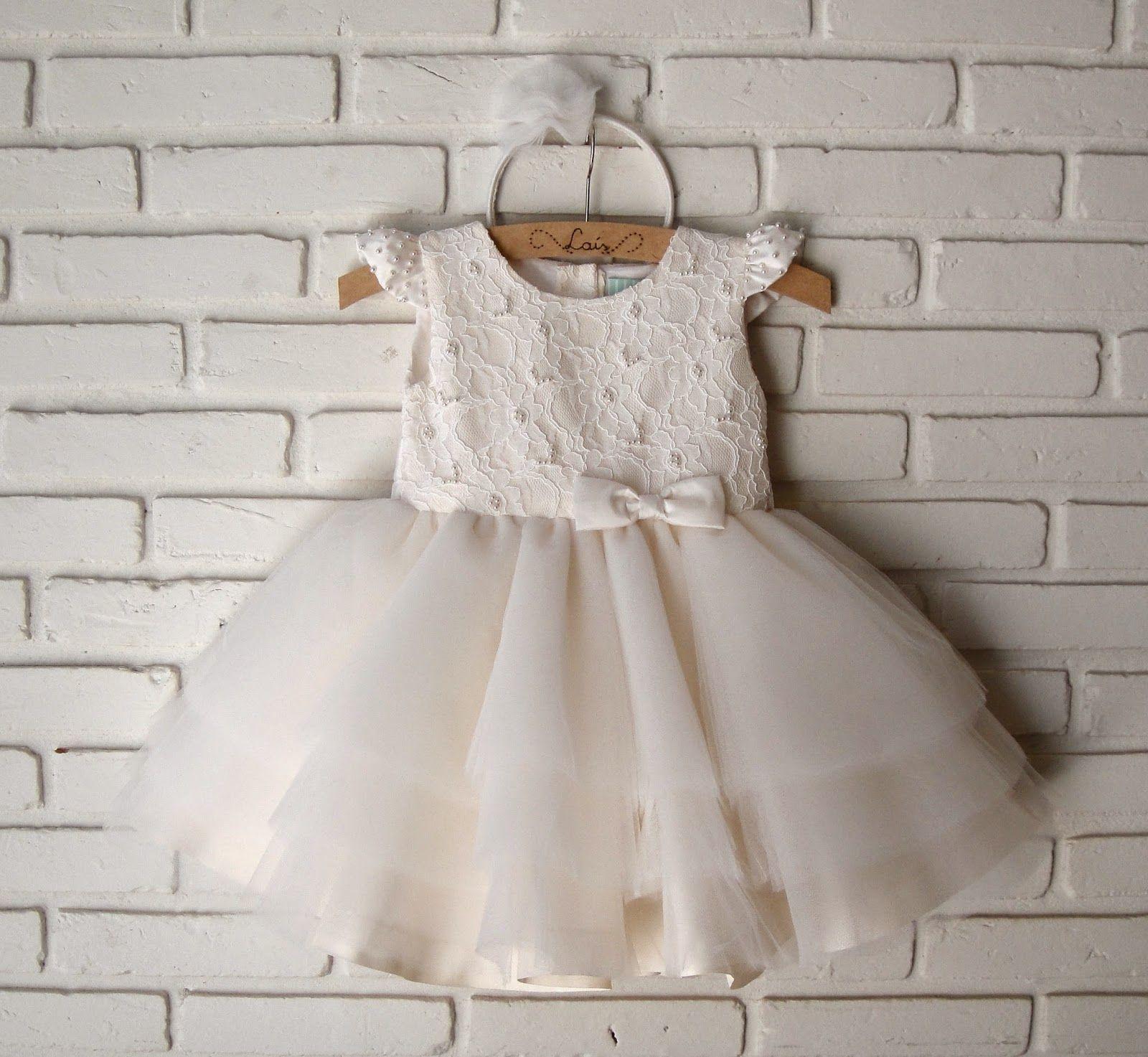 Vestido Infantil Para Festa Com Renda E Saia De Tule Oferta