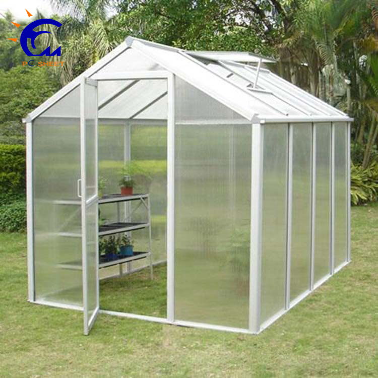 Hangmei polycarbonate resin raw material greenhouse garden shed made