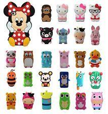 420cf28fbb8 Animales De Goma De Silicona Gel Tpu Funda De Piel Para Iphone 4 4s 5 5c 6