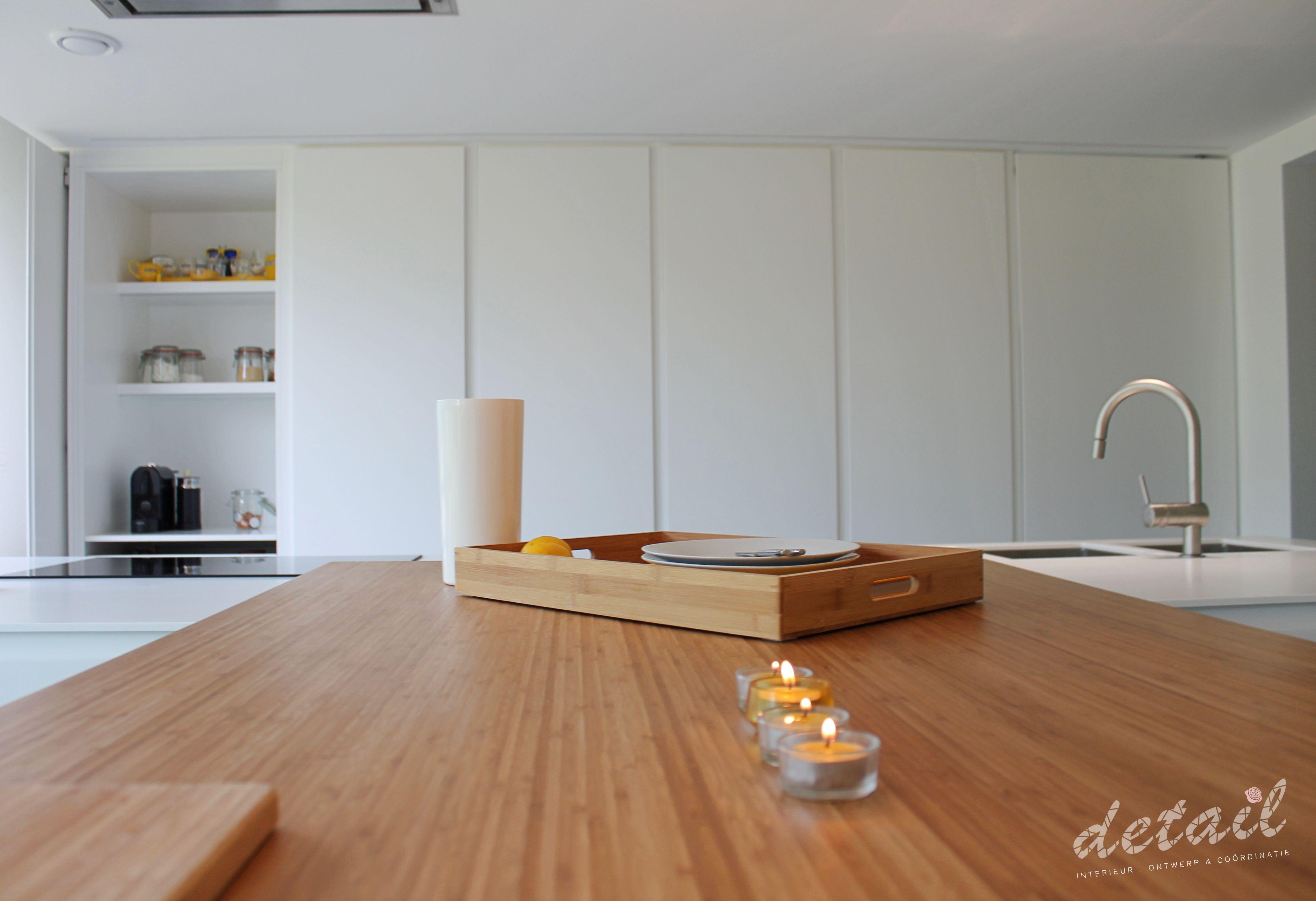 Moderne keuken met hout accent keuken modern interieurontwerp
