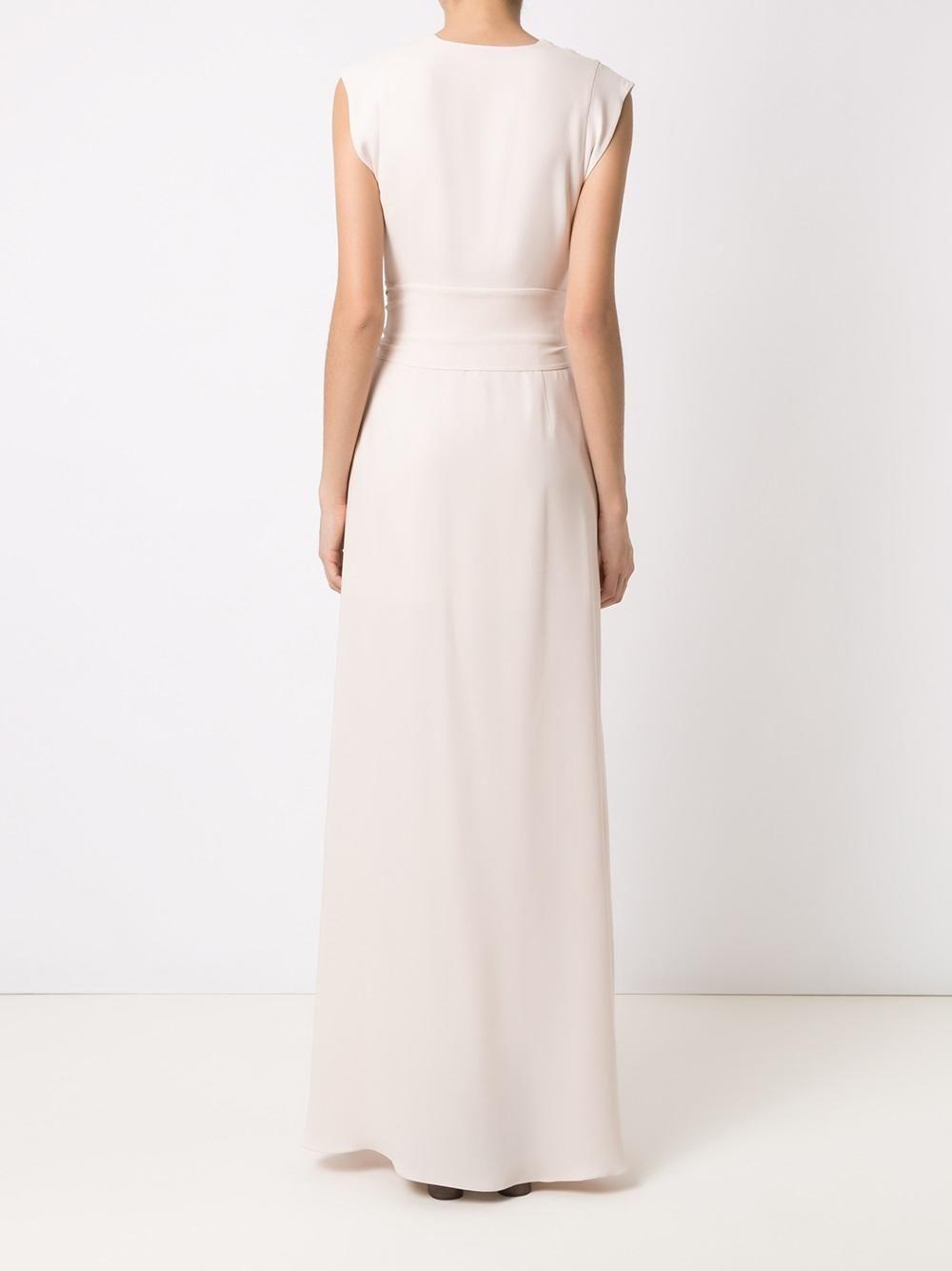 8988b757f Nk Collection Vestido longo com amarração - Exclusivo Farfetch ...