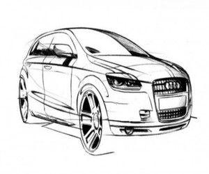 Ausmalbilder Audi Q5 Ausmalen Malvorlagen Malvorlage Auto Und