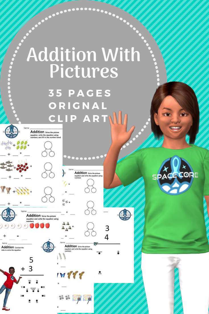 Addition Picture Equations | Early education math ...