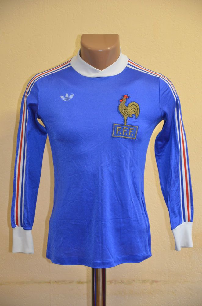 cda830c949f FRANCE 1978/1980 FOOTBALL SHIRT JERSEY ADIDAS VINTAGE LONG SLEEVE PLATINI  ERA
