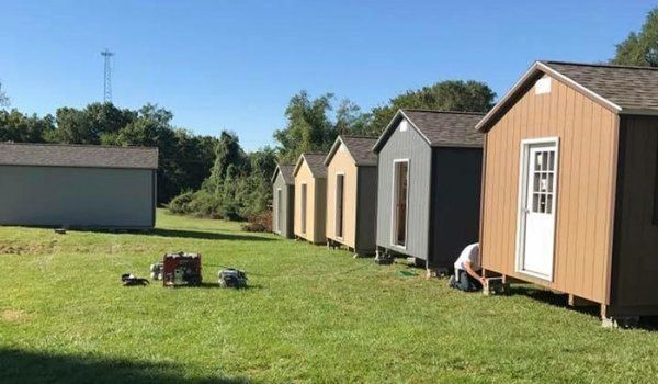 Volunteers Constructed This Entire Community To House Homeless Veterans House Cost Veterans Home House