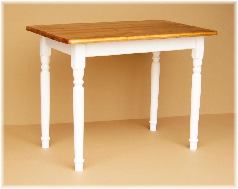 Details zu Esstisch Küchentisch Tisch MASSIV KIEFER HOLZ weiß - massiv kiefer mbel