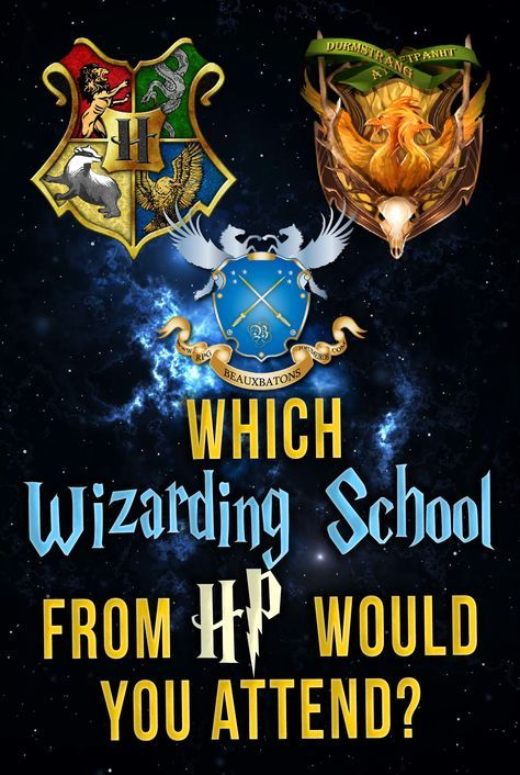 Quiz: Which Wizarding School From Harry Potter Would You ...