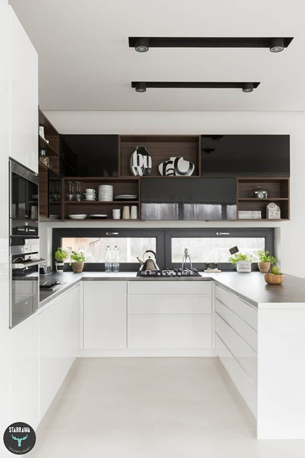 by stabrawa pl scandinavian luxury kitchens u shaped kitchen small u shaped kitchens on u kitchen remodel id=97072