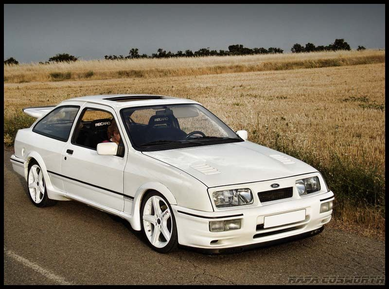 Pin By Tomas Jancarik On Cars Ford Sierra Ford Dream Cars