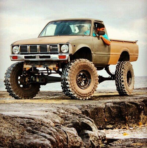 1979 83 Lifted Toyota Pickup Mit Bildern Toyota Oldtimer