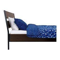 Trysil Bed Frame Dark Brown Luroy Queen Bed Frame Full Bed Frame Bed Slats