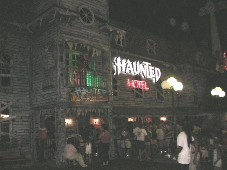 The Haunted Hotel House At Myrtle Beach Pavilion Remember Standing