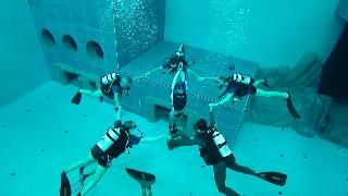 Dive Into The World's Deepest Pool Deepest swimming pool