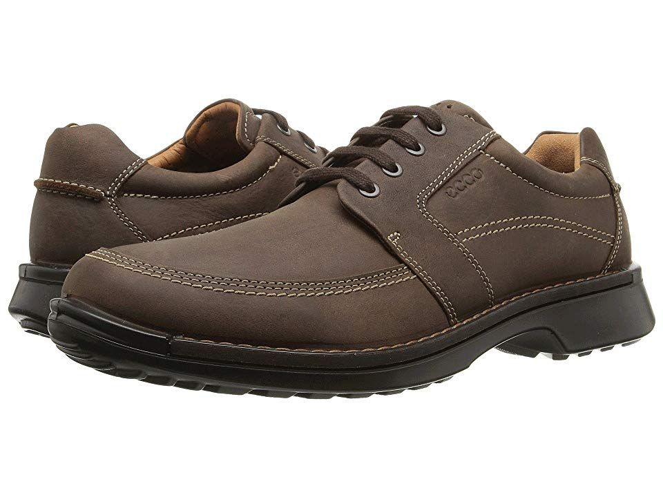 ECCO Fusion II Tie Men's Shoes Cocoa Brown Leather, Oxford  Leather, Oxford