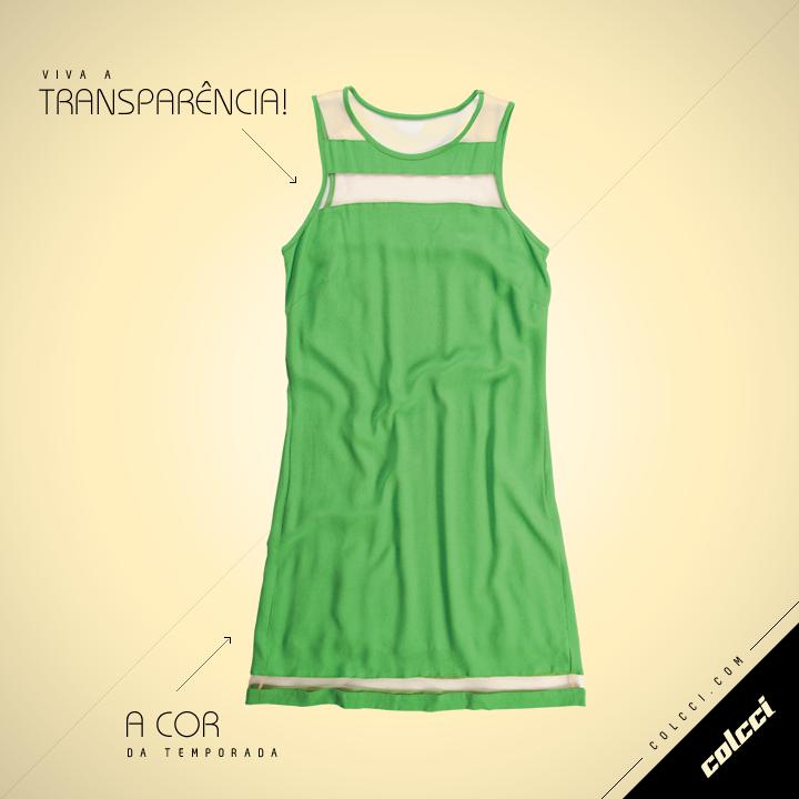 #Colcci #Green #Dress