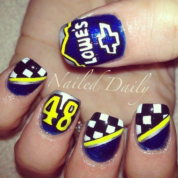 Nascar nails | Nails by Janayna | Pinterest | Nascar nails, Racing nails  and Mani pedi - Nascar Nails Nails By Janayna Pinterest Nascar Nails, Racing