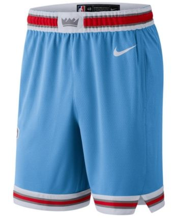 d41127601 Nike Men s Sacramento Kings City Swingman Shorts - Blue M
