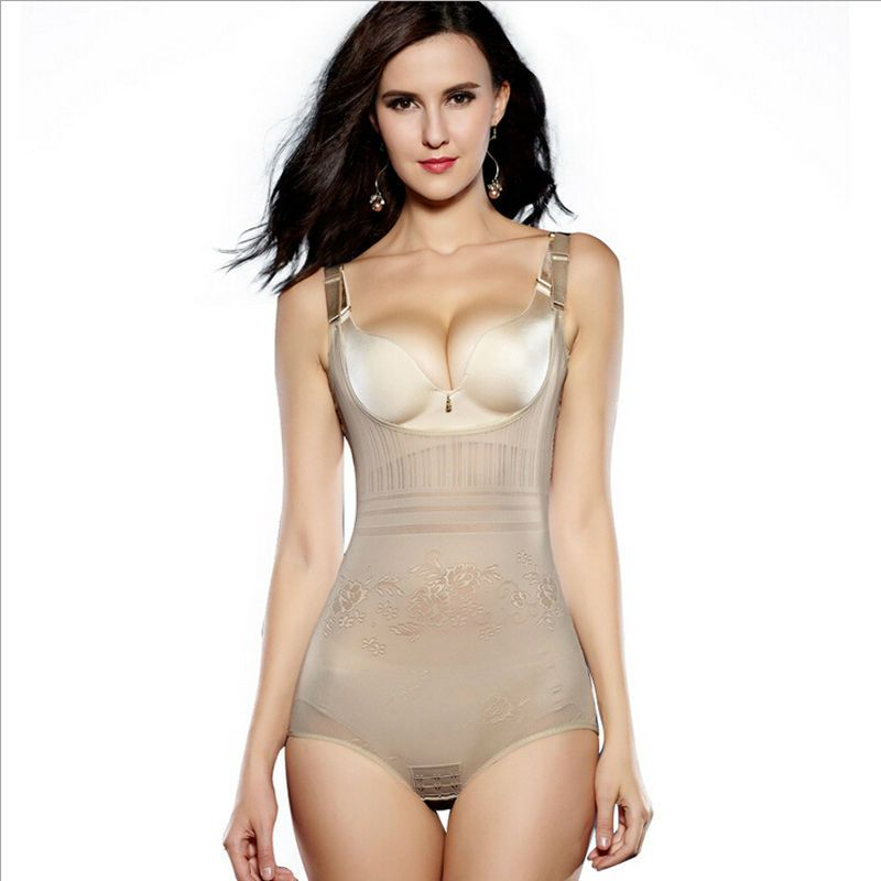 eb903090f6 VSIHZ Women s Tummy Control Underbust Slimming Underwear Shapewear Body  Shaper Control Waist Cincher Firm Bodysuits 39