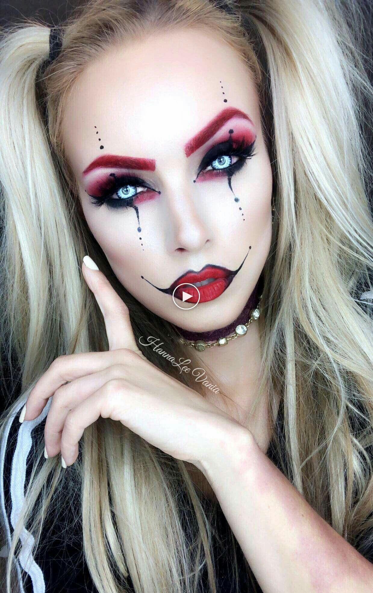 [25+] Glam Escouade De Maquillage D'Halloween