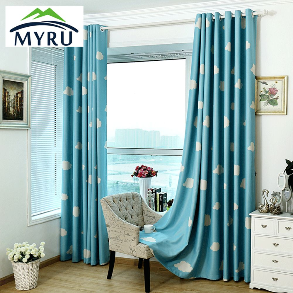 Kids Bedroom Curtains Impressive Myru High Quality Baby Curtains Childrens Cheap Blackout Curtains Inspiration Design