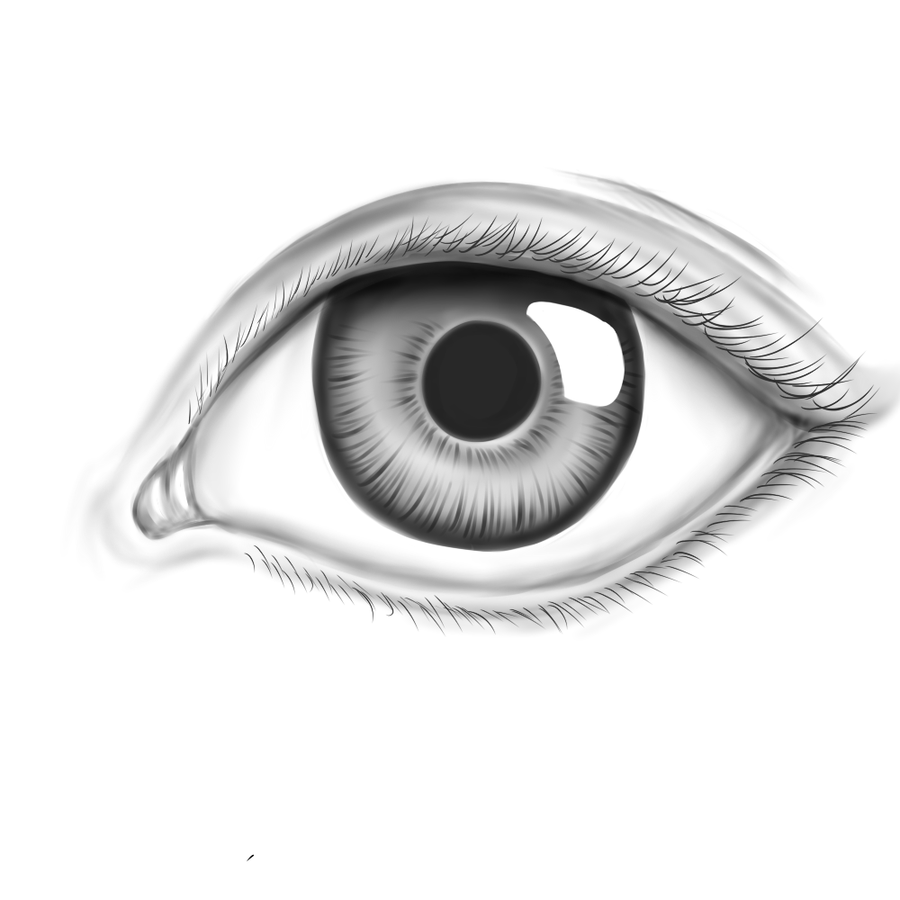 coloring pages eyes realistic eye by appletumble on deviantart
