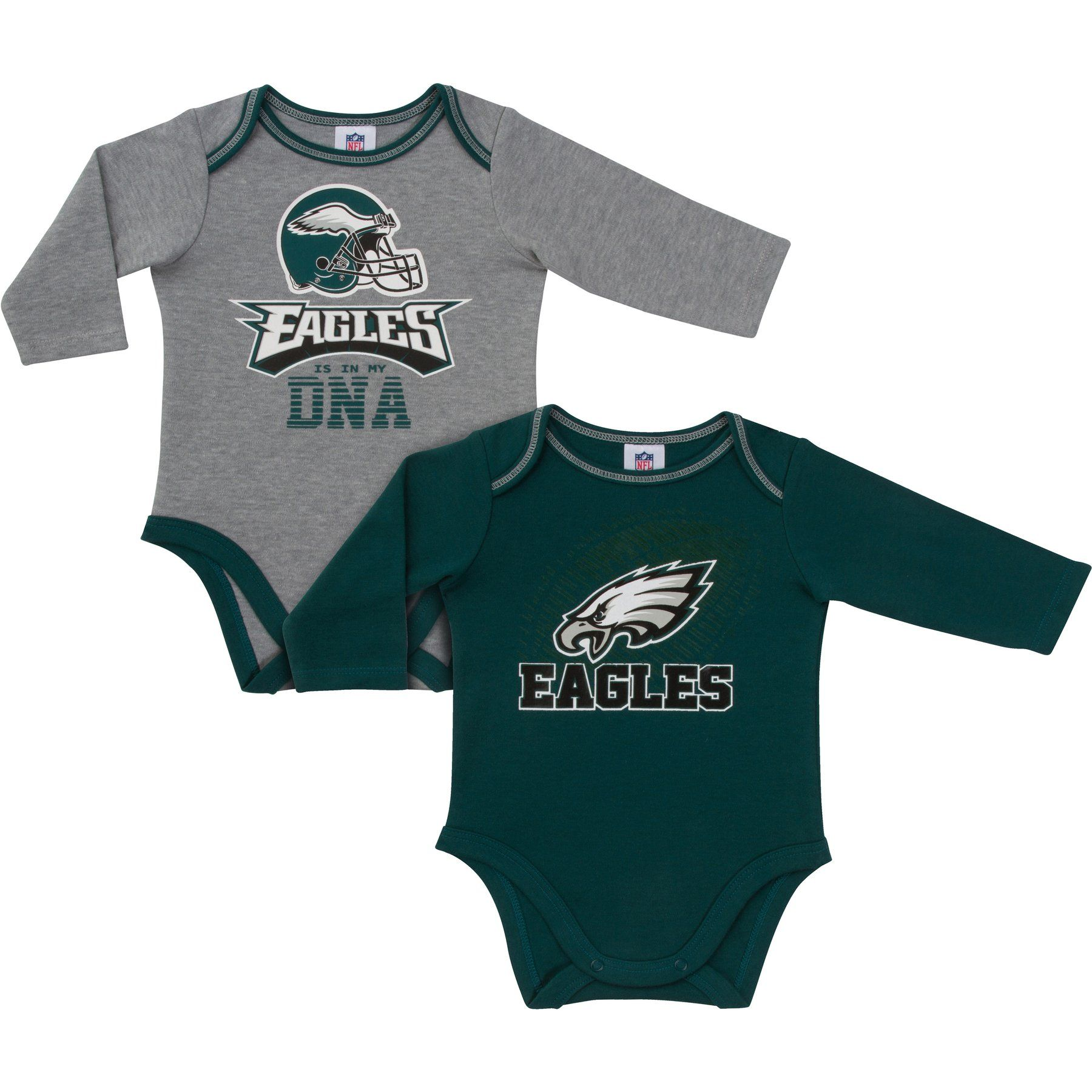 6d25e5a2 These long sleeved Eagles Is In My DNA Onesies will get your little ...