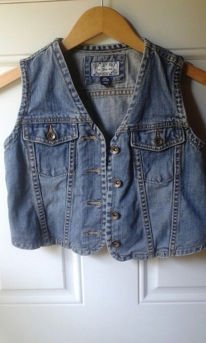 908fe906 My Jean Denim Vest by Gap! Size 16 for $$8.00. Check it out