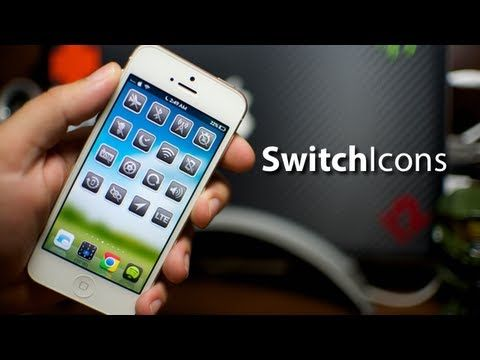 SwitchIcons Cydia Tweak For iPhone & iPod Touch