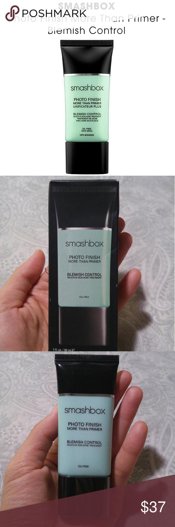 Smashbox More Than Primer Blemish Control My Posh Closet Pinterest