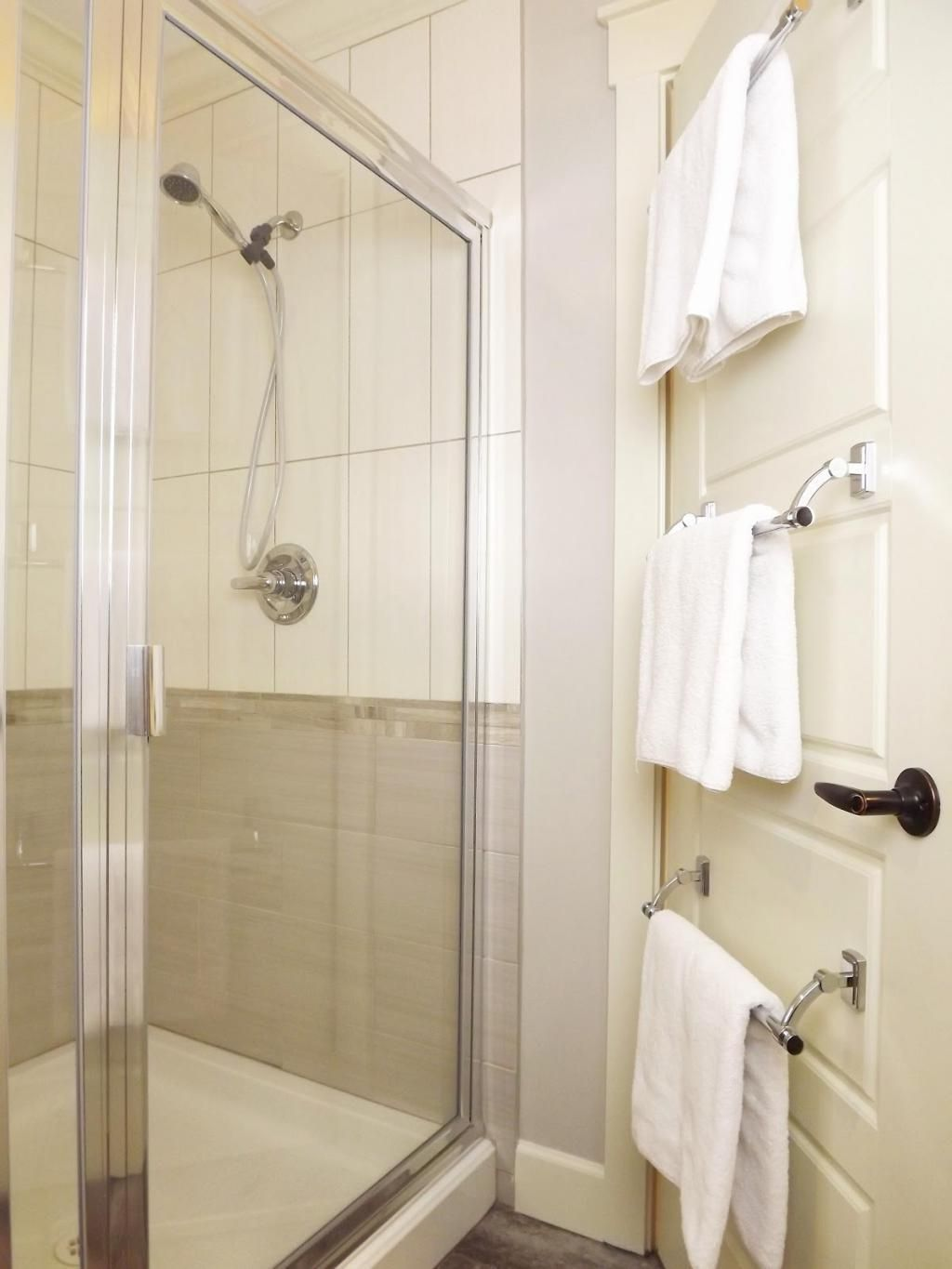 Image Result For Where To Put Towel Bar Small Bathroom Small