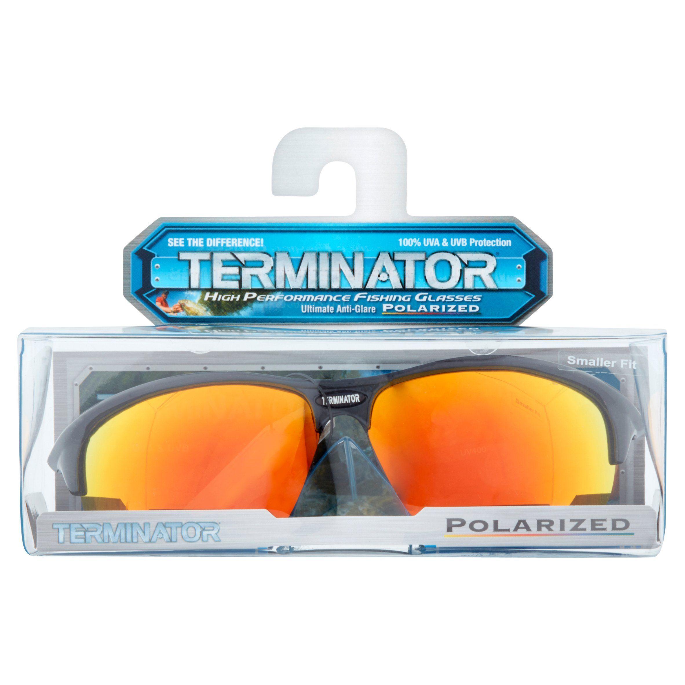 5d0f9cab15f0 Terminator Polarized Smallfit Sunglasses, Black