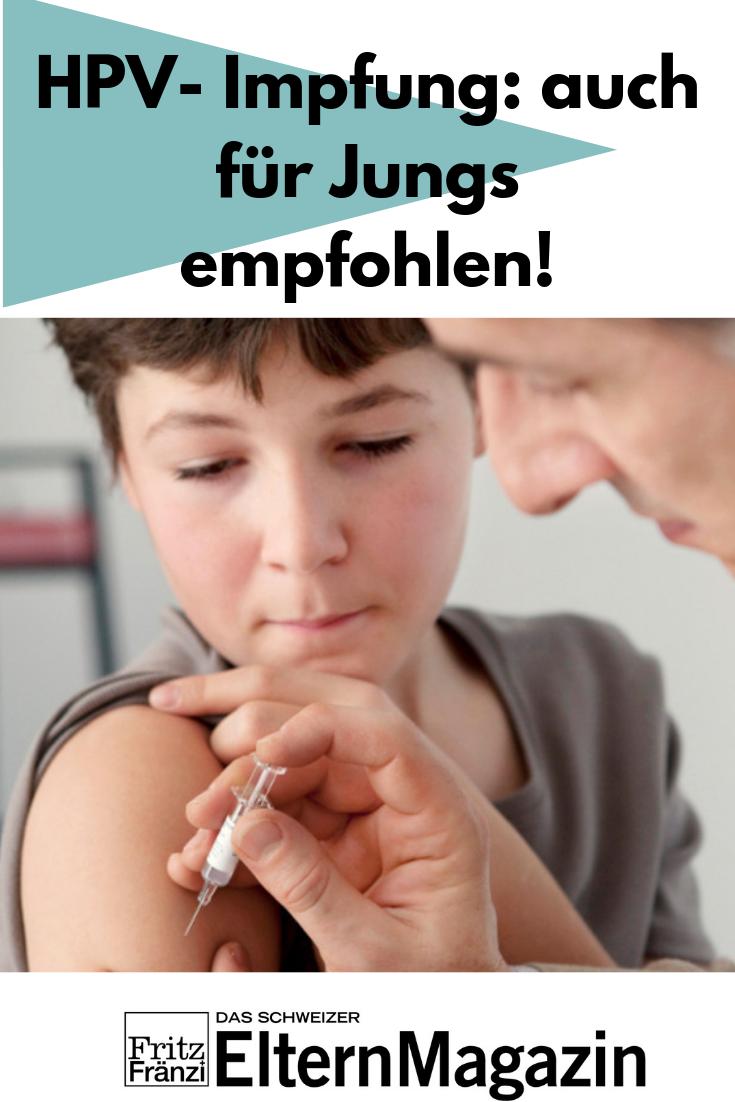 hpv impfung für jungs