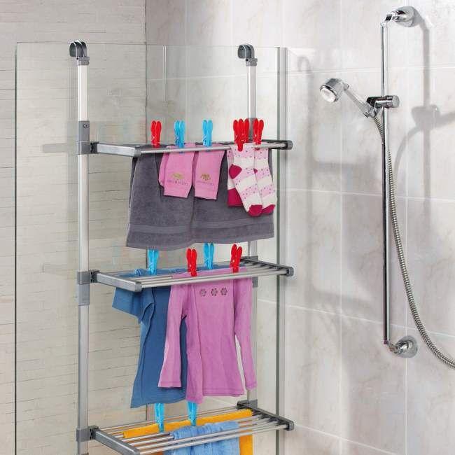 Lo stendibiancheria da doccia | cucina | Pinterest ...