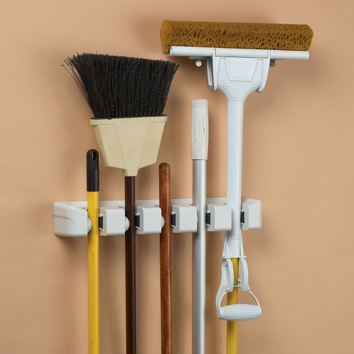 broom u0026 mop holder - Broom Holder
