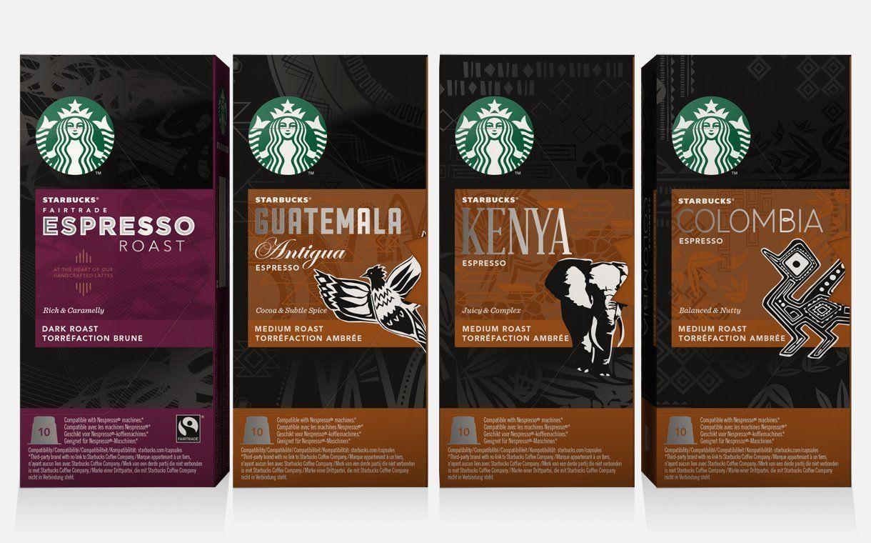 Starbucks Capsules for Nespresso Colombia, Espresso
