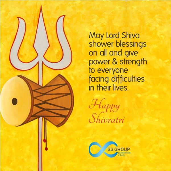 May Lord Shiva Shower His Benign Blessings On You And Your