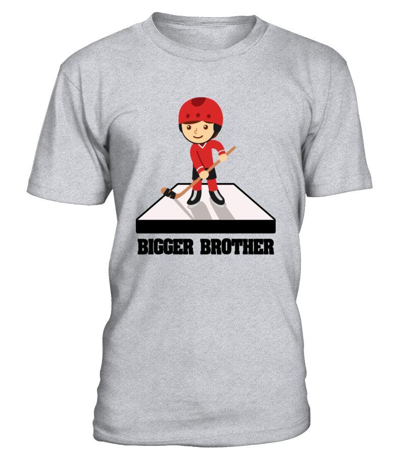 Hockey family Bigger Brother 1116  Funny Hockey T-shirt, Best Hockey T-shirt