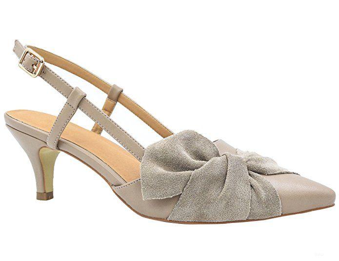 d96dba44466a44 Greatonu Women Court Shoes Sexy Closed Toe Kitten Heels Beige Comfortable Slingback  Dress Pumps Size 10 #Pumps #fashion #shoes #workshoes #coolshoes ...