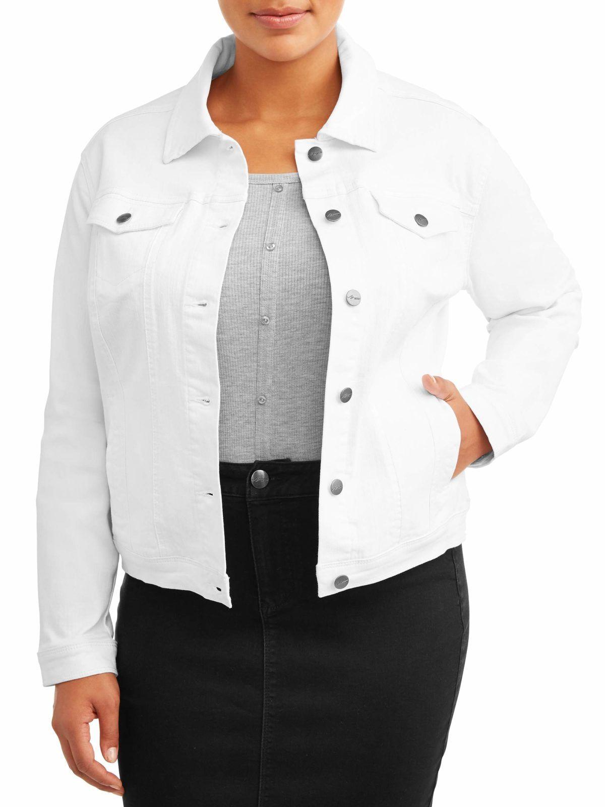 Oh Hey Curvy Girl Get Your Outerwear On Point With These Picks Under 100 Denim Women Denim Jacket White Denim Jacket [ 1600 x 1200 Pixel ]