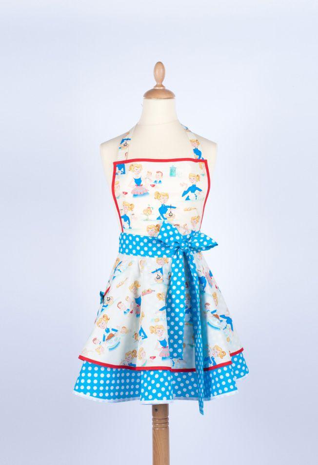 tablier de cuisine madame choup | tuto couture
