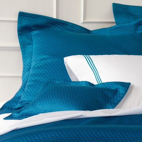 Matouk Pearl Matelasse Bedding   Soft Egyptian Cotton Matelasse Coverlets,  Shower Curtains And Bed Shams